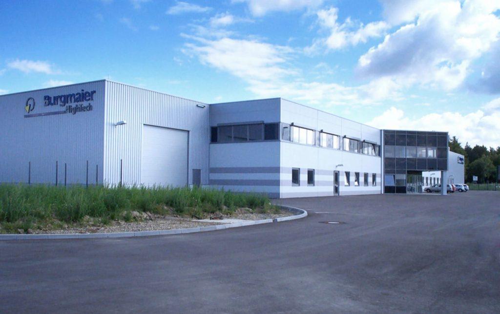 Aufnahme des Standortes in Laupheim. Auch hier handelt es sich um einen reinen Produktionsstandort.